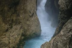 Leutasch-Klamm-Wasserfallsteig-Österreich